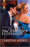 Miss Winthorpe's Elopement (Belston & Friends, #1)