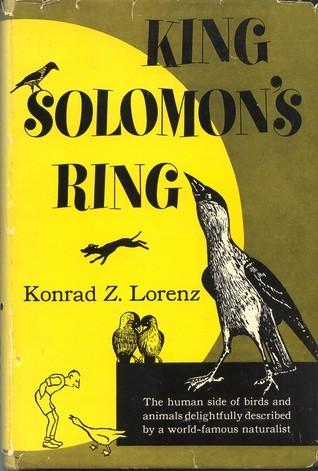 King Solomon's Ring: New Light on Animal Ways