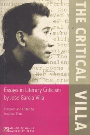 The Critical Villa: Essays in Literary Criticism