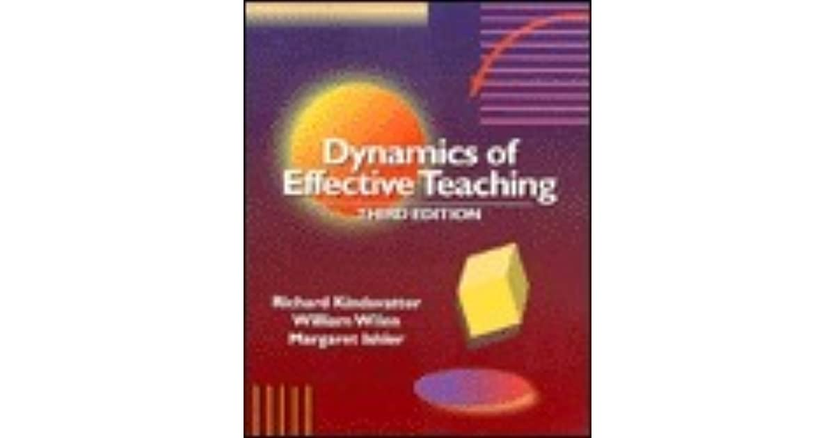 Dynamics of Effective Teaching
