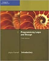 Programming Logic and Design, Introductory [With CDROM]