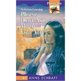 someone to love me book report by anne schraff essay Book reviews lost and found by anne schraff lost and found by anne schraff  january 15, 2008  im now reading someone to love me report abuse.