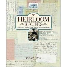 Heirloom Recipes An Ivillage Solutions Book By Jennifer Saltiel
