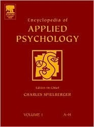 Encyclopedia of Applied Psychology, Three-Volume Set  (2004, Academic Press)