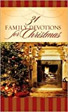 31 Family Devotions for Christmas