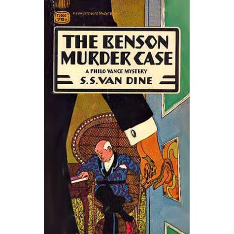 the rules for writing detective novels by s s van dine Twenty rules for writing detective stories was written in the year 1939 by s s  van dine this book is one of the most popular novels of s s.