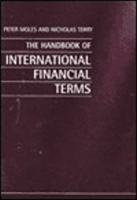 Handbook of International Financial Terms (Revised)