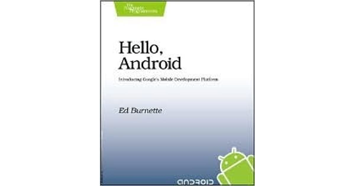 Hello Android 4th Edition Pdf