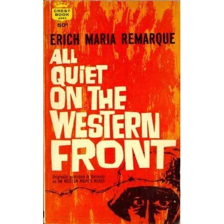 the sad truth about war in all quiet on the western front a novel by erich maria remarque Home all quiet on the western front: novel summary: chapter 8 it makes paul sad all quiet on the western front remarque erich maria.