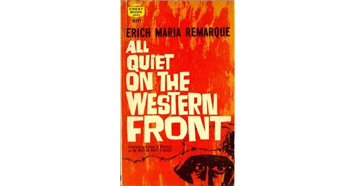 a review of the problem of language in all quiet on the western front To call baumer's death anything other than tragic would be to rob all quiet on the western front of much of its power as an anti-war novel the fact that baumer endures the hardships and insanities described throughout the rising action of the novel are meant to show his fortitude and basic goodness.