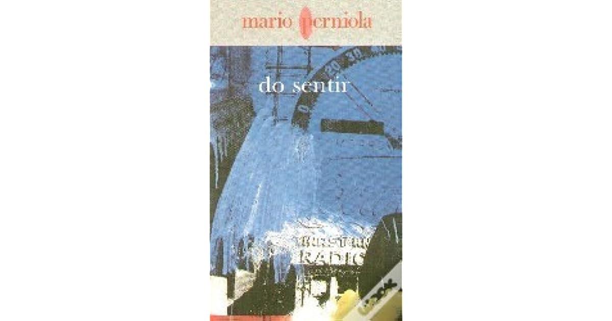 DO SENTIR MARIO PERNIOLA PDF