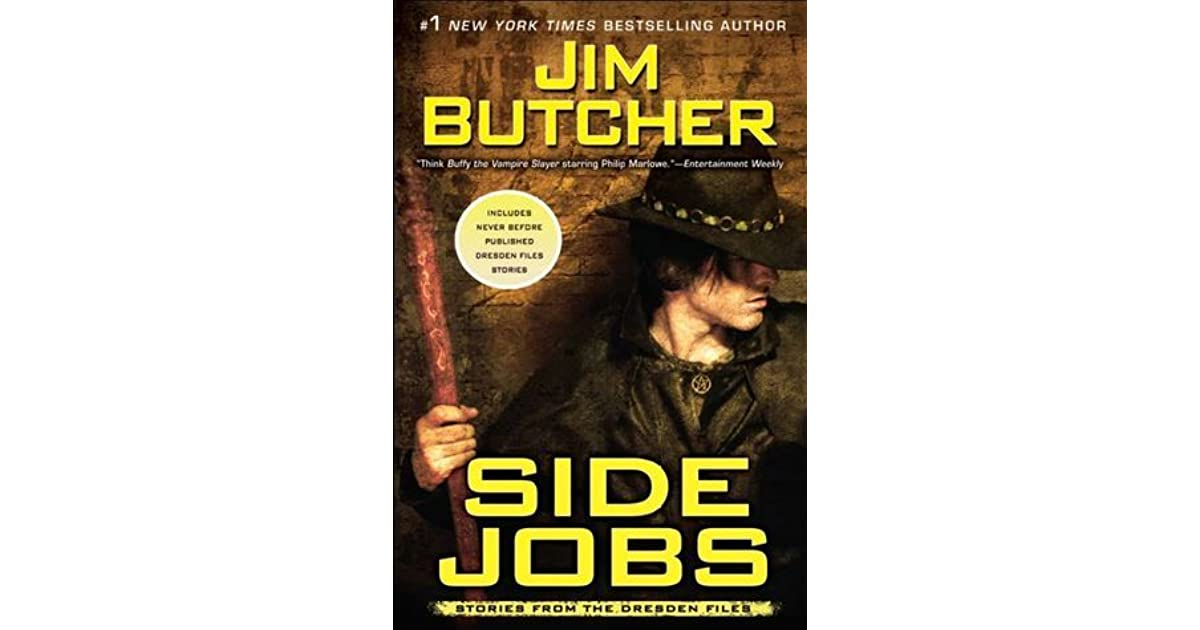 Side Jobs Stories from the Dresden Files by Jim Butcher