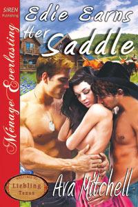 Edie Earns Her Saddle