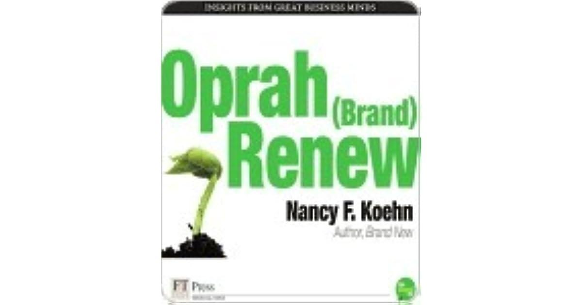 Oprah (Brand) Renew