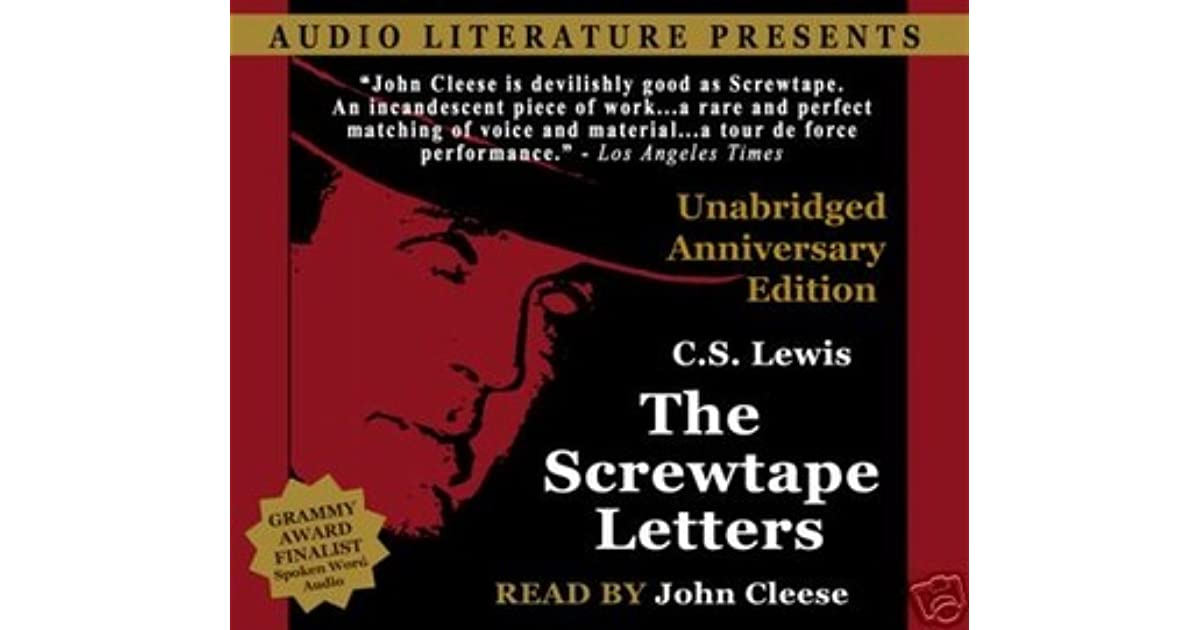 """christian literature in the modern era in the screwtape letters by c s lewis However, as we learn from the screwtape letters (1942), lewis was deeply wary of substituting for the faith itself """"some fashion with a christian colouring"""" 60 therefore, c s lewis would likely insist that his concept of freedom is merely christian."""