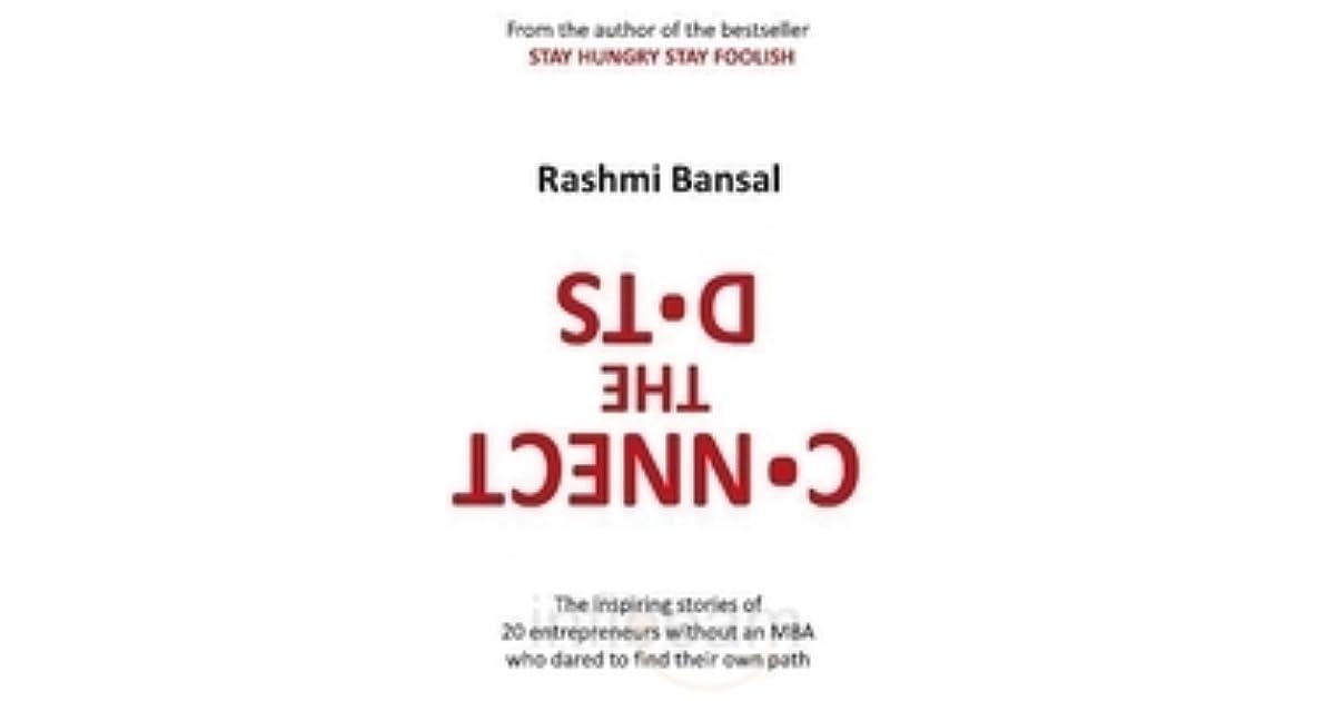 I Have A Dream Rashmi Bansal Pdf
