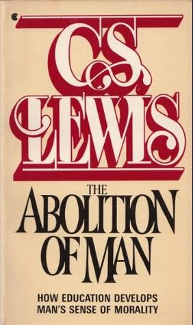 the abolition of man cs lewis pdf
