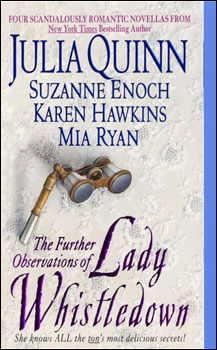 Image result for the further observations of lady whistledown book cover""