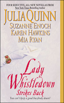 Image result for lady whistledown strikes back book cover""