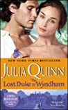 The Lost Duke of Wyndham (Two Dukes of Wyndham, #1)