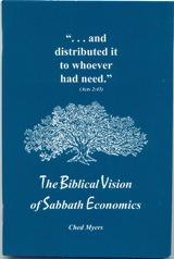 The Biblical Vision of Sabbath Economics