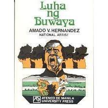 book review literature 3 luha ng buwaya amado vera hernandez Powerpoint presentation about the novel luha ng buwaya written by a famous   it is a novel written by the filipino amado v hernandez.