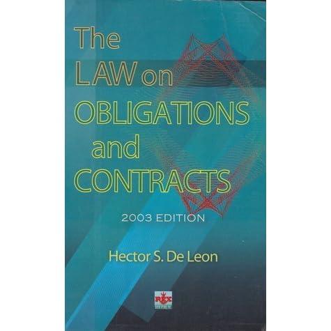 198853914 obligations and contracts hector de Obligations and contracts reviewer 198853914 obligations and contracts hector de leon obligations and contracts by: hector s de.