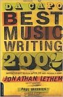 Da Capo Best Music Writing 2002