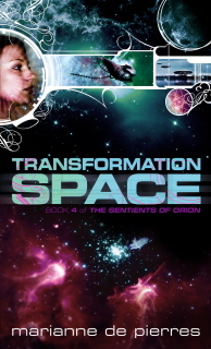 Transformation Space by Marianne de Pierres