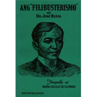 related literature of el filibusterismo Jose rizal's el filibusterismo ₱34900 out of stock isbn: 9789719341864  imprint/category: anvil fiction and literature product id: 4547 about the book.