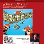 Understanding Grammar for Powerful Communication (The Modern Scholar: Way with Words, Vol. 3)