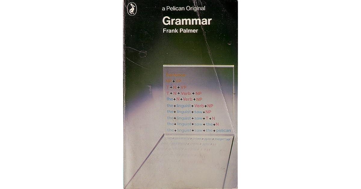 Image result for frank palmer grammar
