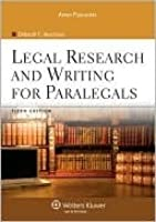 Legal Research and Writing for Paralegals [With Free Web Access]