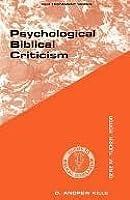 Psychological Biblical Criticism