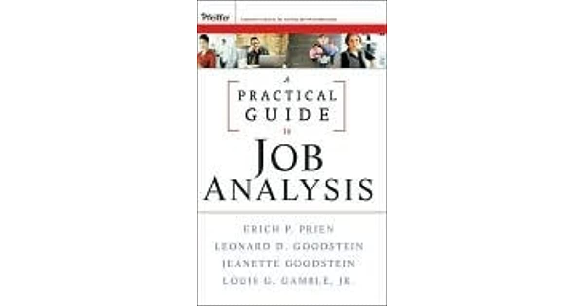 A Practical Guide to Job Analysis has been added