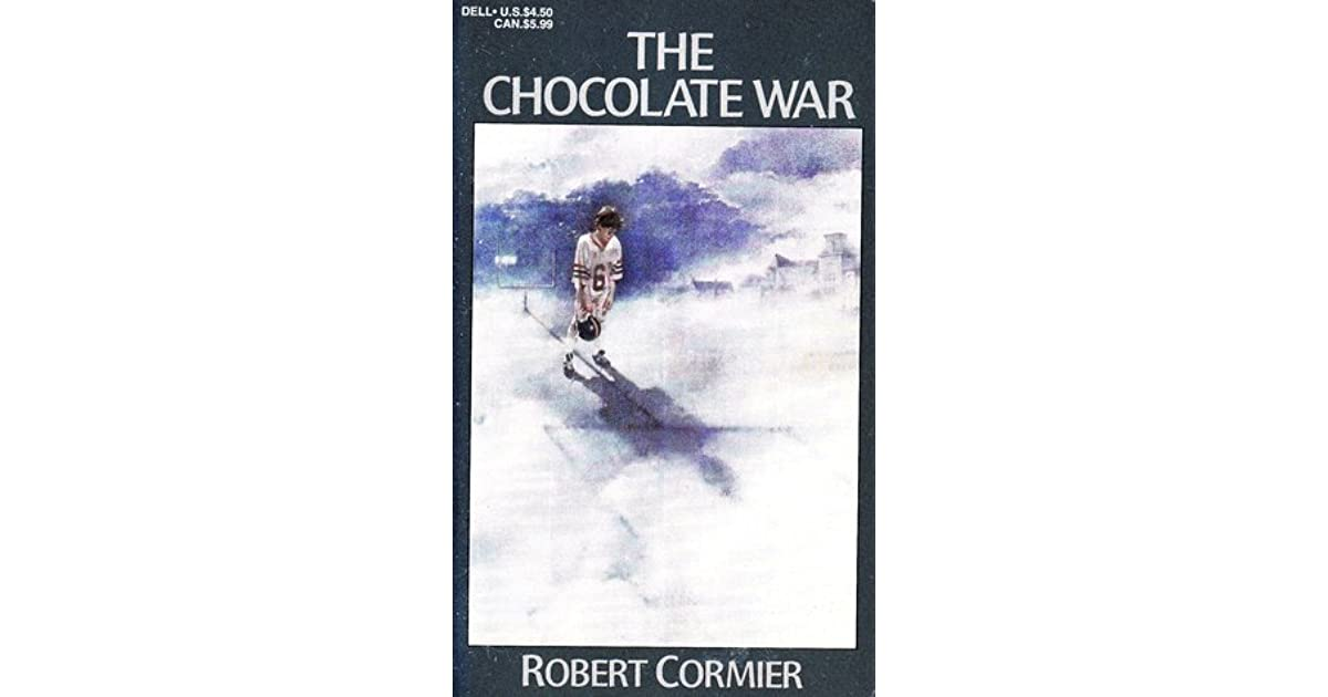 a reading report on the chocolate war by robert cormier The chocolate war by robert cormier (grades 9-12) literature unit  the chocolate war book report form (pdf file)  reading comprehensions robert cormier (grade 9) chapters 1-6 quiz and writing prompts (pdf file) edit the quiz questions and vocabulary using edhelper's quiz tool.