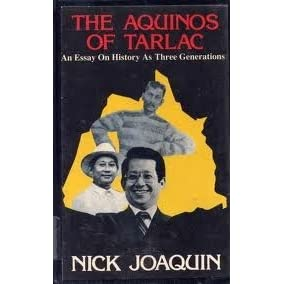 three generations by nick joaquin reflection paper