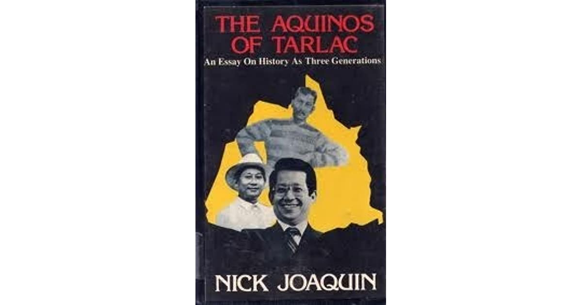 prose and poems by nick joaquin summary