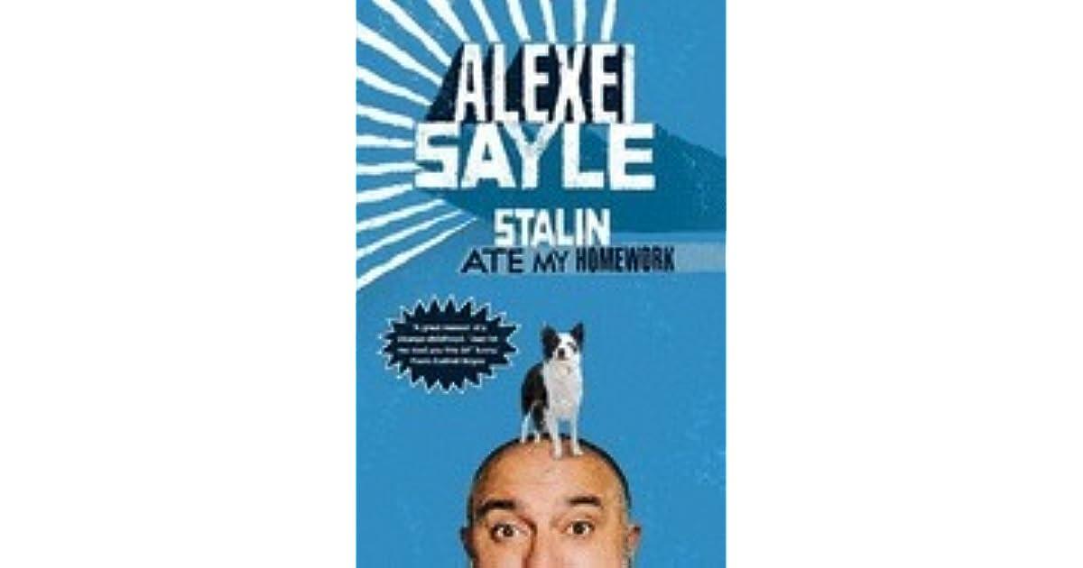 Swell Stalin Ate My Homework By Alexei Sayle Best Image Libraries Weasiibadanjobscom