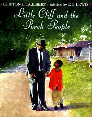 Little Cliff and the Porch People cover art with link to Goodreads description