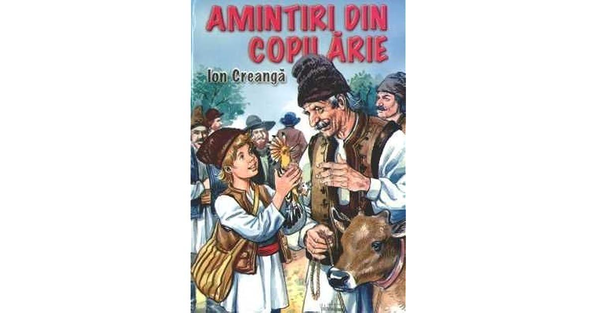 Amintiri Din Copilarie Ion Creanga Pdf