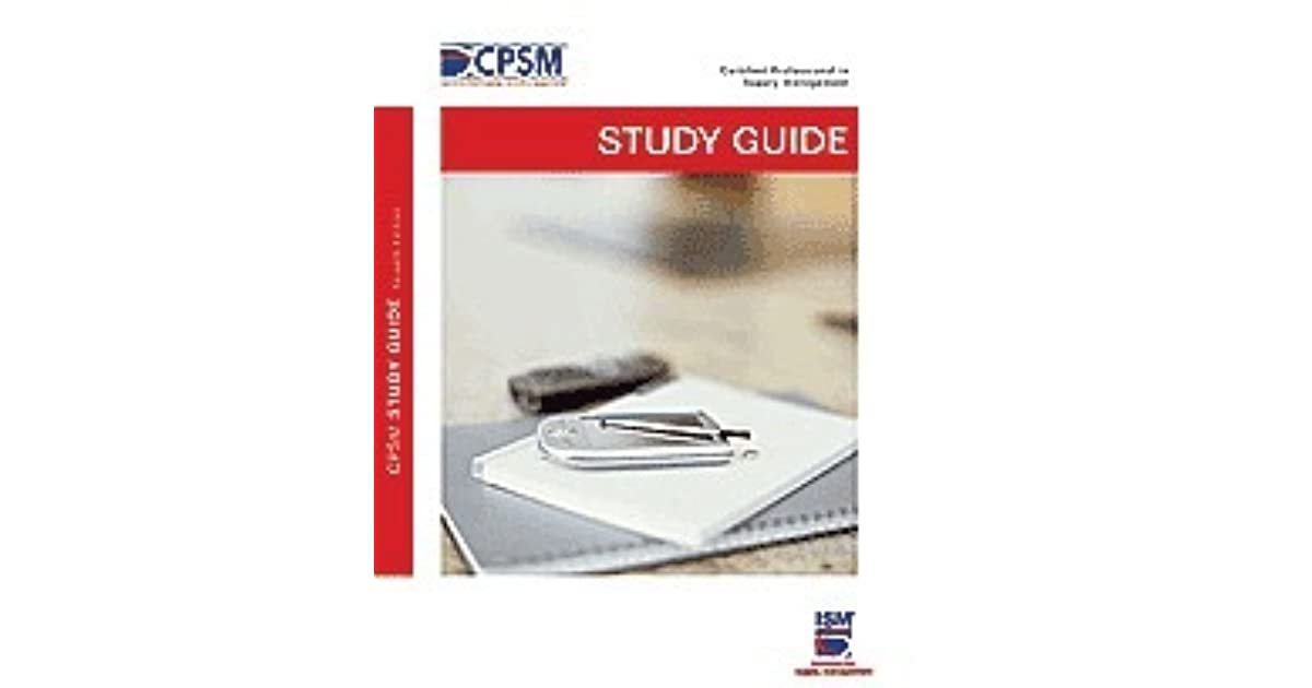 Bill Gonzales Las Review Of Cpsm Study Guide Exam 1