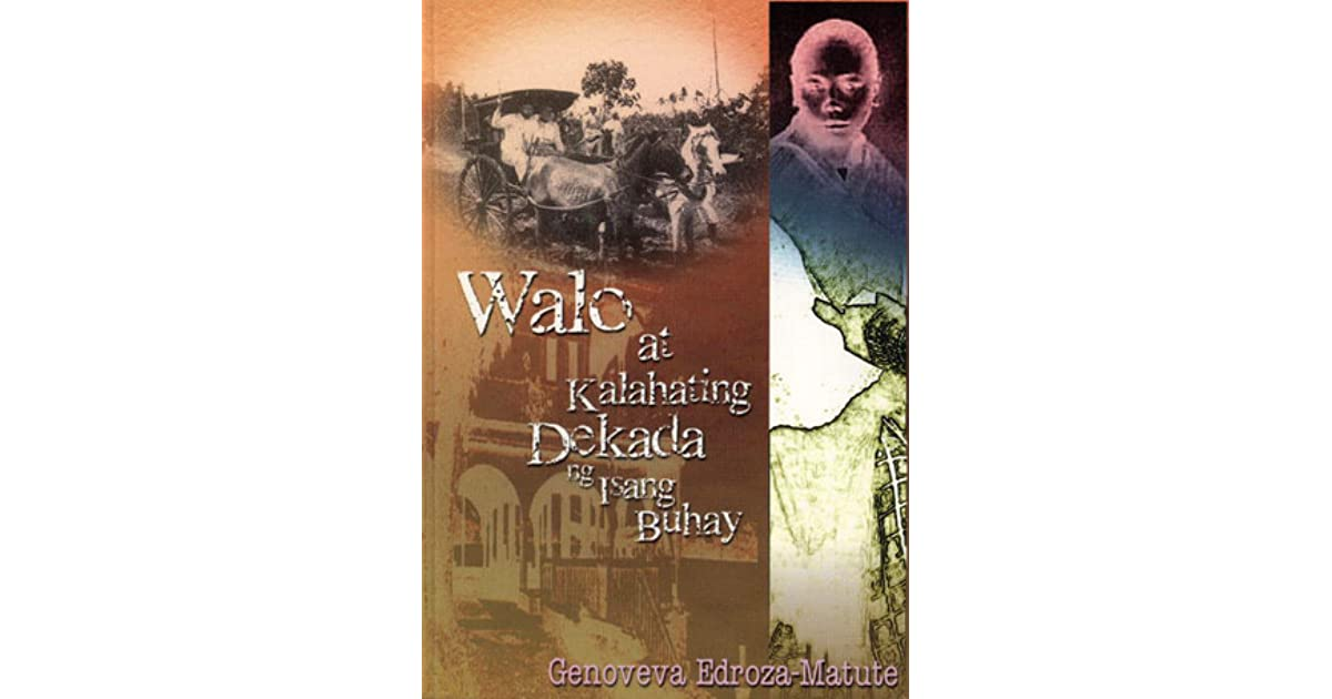 paghihintay by genoveva edroza matute Those interested in filipino scholars, writers or academics will be interested in  the details of the academic contributions included in a genoveva edroza matute .