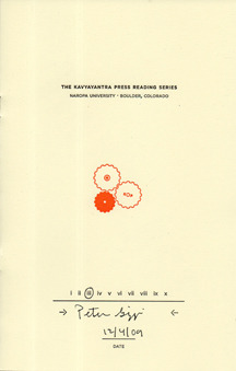 The Kavyayantra Press Reading Series by Peter Gizzi