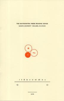 The Kavyayantra Press Reading Series by David Buuck