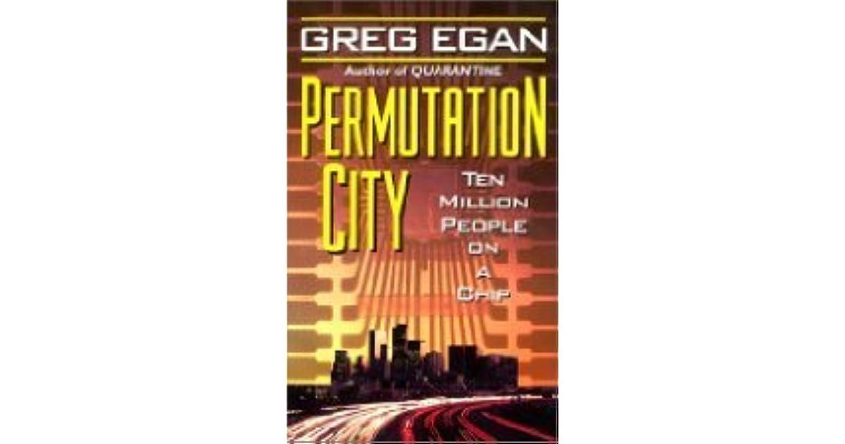 Permutation City (Subjective Cosmology #2) by Greg Egan