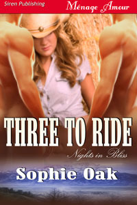 Three to Ride (Nights in Bliss, Colorado, #1)