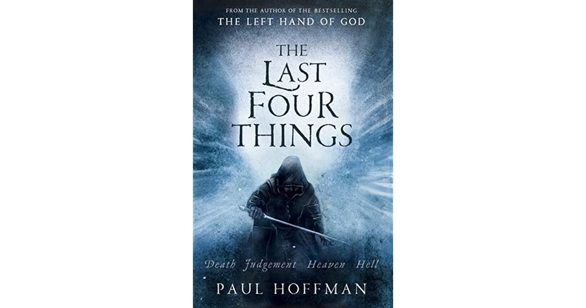 The Last Four Things Paul Hoffman Epub
