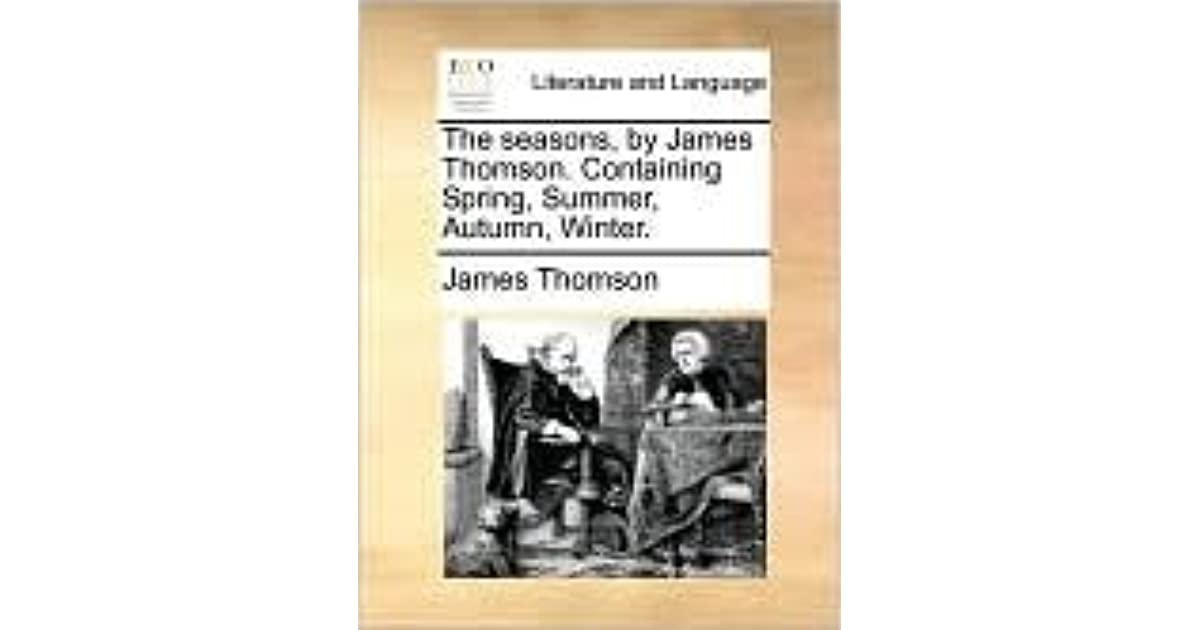 james thomson the seasons analysis