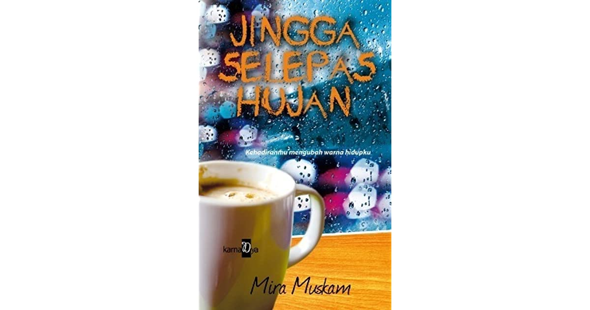 novel jingga selepas hujan